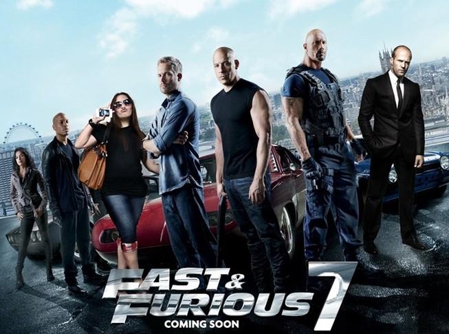 """""""Fast & Furious 7"""" cán mốc 1 tỷ USD nhanh nhất trong lịch sử"""