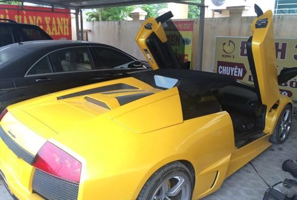 Thu giữ siêu xe Lamborghini dùng giấy tờ giả của đại gia phố núi