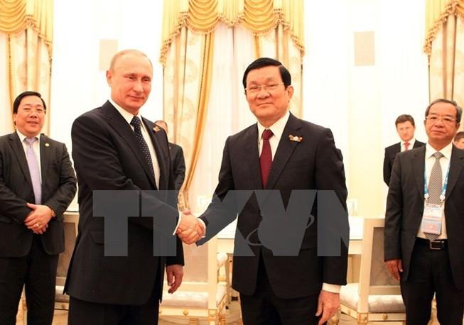 Ông Putin: Nga và Việt Nam duy trì đối thoại chính trị nhịp nhàng