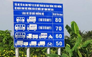 Chạy xe chậm có bị xử phạt?