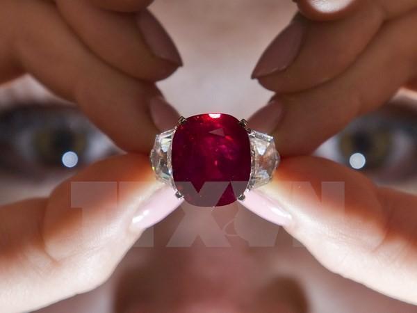 Chiêm ngưỡng viên hồng ngọc đắt nhất thế giới tại Thụy Sĩ