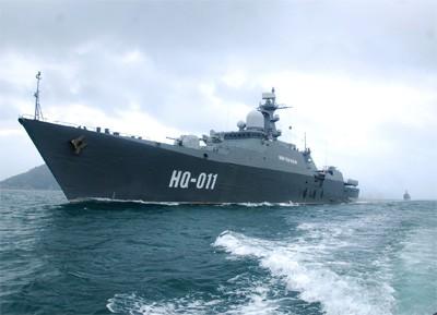 Nga hoàn tất cặp chiến hạm Báo đốm cho Việt Nam