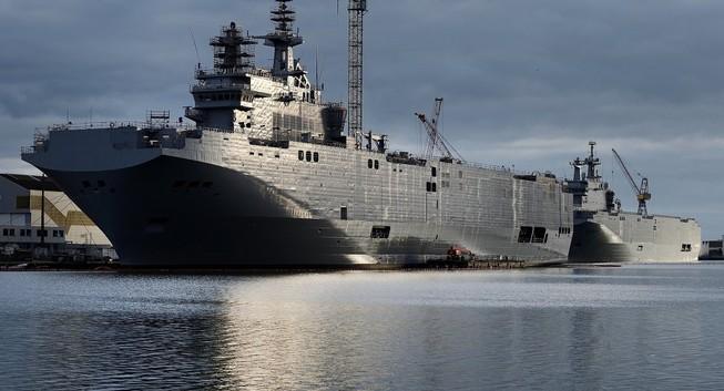 """Tung tin Trung Quốc mua tàu Mistral, Mỹ """"thấp thỏm lo âu"""""""