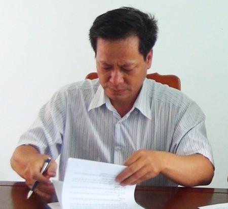 Đình chỉ công tác giám đốc Sở TT&TT Phú Yên