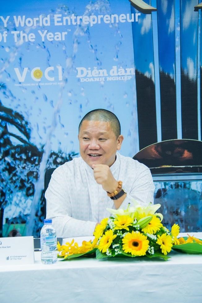 Chủ tịch Tôn Hoa Sen sẽ đại diện Việt Nam thi bản lĩnh doanh nhân thế giới