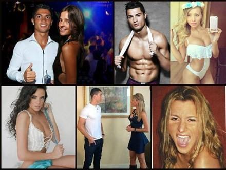 Lộ diện nhiều người tình bí mật của Ronaldo