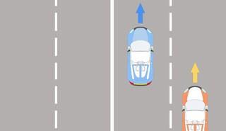 Có được chuyển sang làn bên phải để vượt xe?