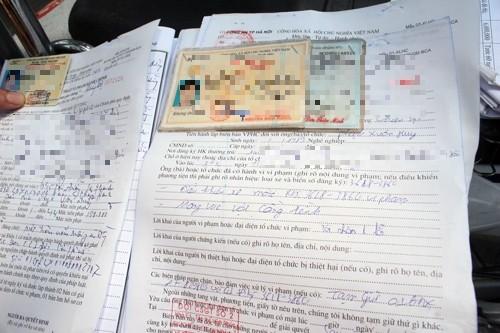 Người vi phạm có được ghi ý kiến vào biên bản?