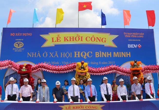 Vĩnh Long: Khởi công dự án nhà ở xã hội quy mô lớn nhất ĐBSCL