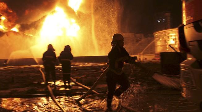 Trung Quốc: Lại cháy nổ kinh hoàng ở một nhà máy hóa chất