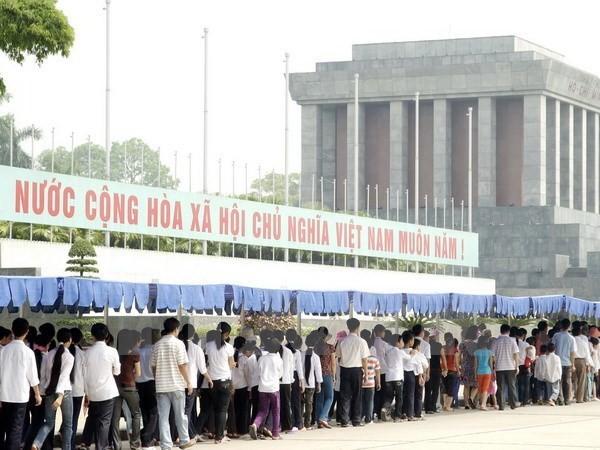 Từ 4/9: Tạm ngừng tổ chức viếng Lăng Chủ tịch Hồ Chí Minh