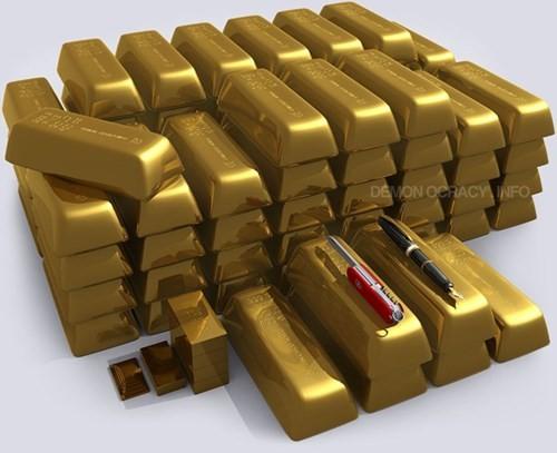12 sự thật vô cùng kinh ngạc về vàng