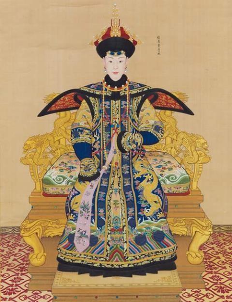 Bức họa quý phi của Càn Long đạt giá hơn 17 triệu đô