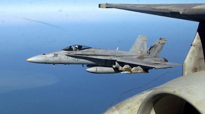 Chiến đấu cơ F-18 của Mỹ nổ tung ở Anh, phi công tử nạn