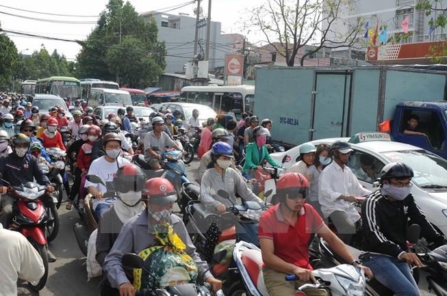TP Hồ Chí Minh điều chỉnh tổ chức giao thông để giảm kẹt xe