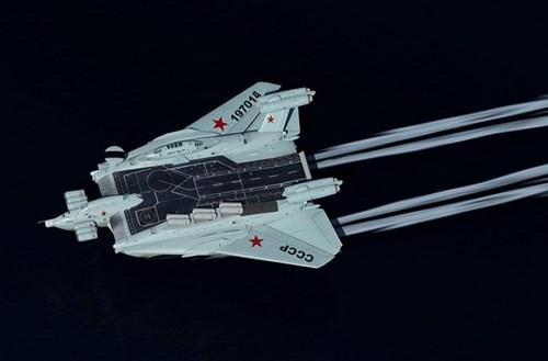 Hé lộ về dự án tàu sân bay 'cực độc' của Liên Xô