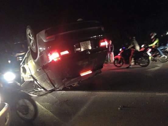 Gây tai nạn rồi bỏ chạy, tông CSGT trọng thương