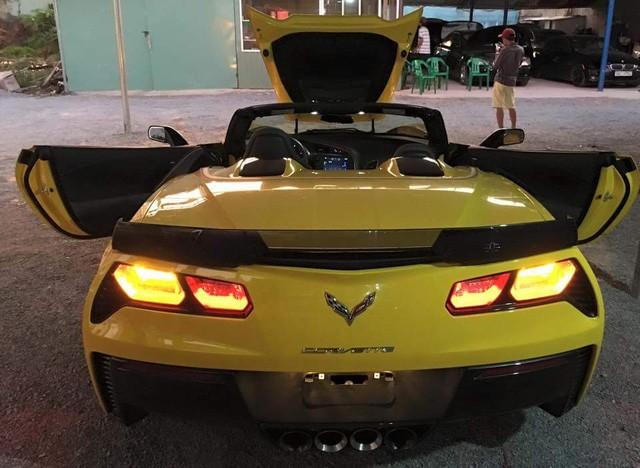 Chevrolet Corvette C7 Z06 Convertible đầu tiên cập bến Việt Nam