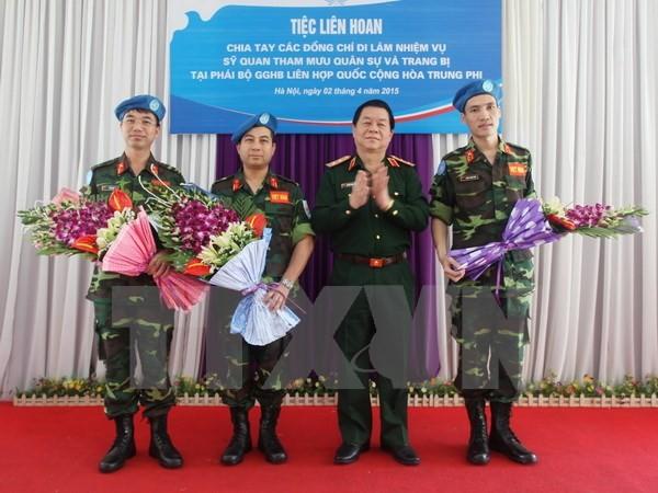 Việt Nam tích cực tham gia gìn giữ hòa bình Liên Hiệp Quốc