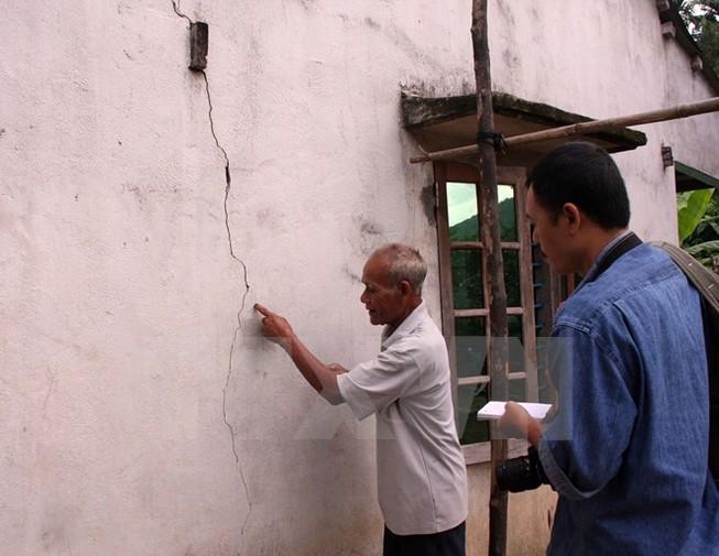 Những vùng ở Việt Nam có thể phát sinh động đất do đới đứt gãy