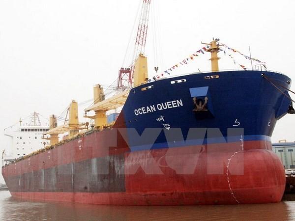 Tàu Việt Nam bị lật tại Myanmar sau khi va chạm với tàu chở dầu