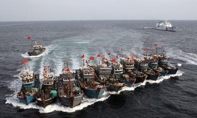 Hàn Quốc bắt giữ 2 tàu Trung Quốc đánh bắt cá bất hợp pháp