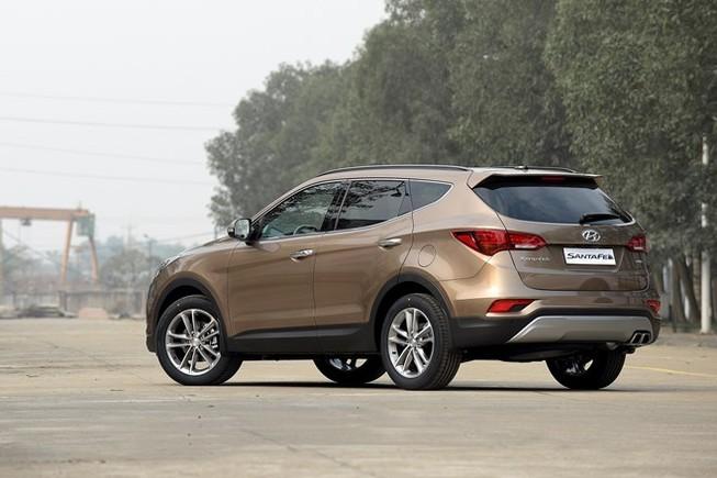 Chính thức ra mắt, Hyundai SantaFe 2016 giá từ 1,1 tỷ đồng