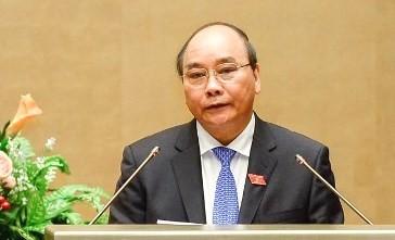 Ông Nguyễn Xuân Phúc được đề cử làm Thủ tướng Chính phủ
