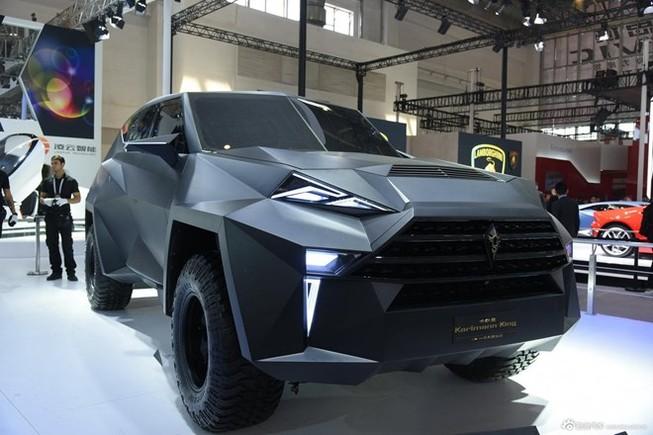 Siêu xe 'lập dị' IAT Kalman của Trung Quốc có giá bán lè lưỡi