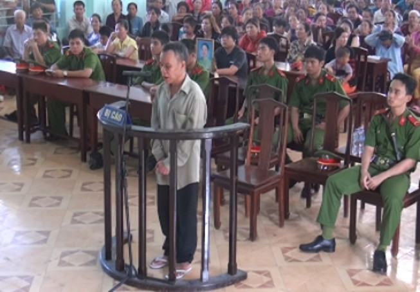 Xét xử lưu động vụ án cướp của giết người tại xã Phú Lý