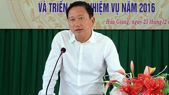 Đã chuyển lệnh truy nã quốc tế Trịnh Xuân Thanh đến Interpol