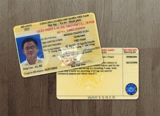 Sửa giấy phép lái xe sẽ không được cấp lại trong 5 năm