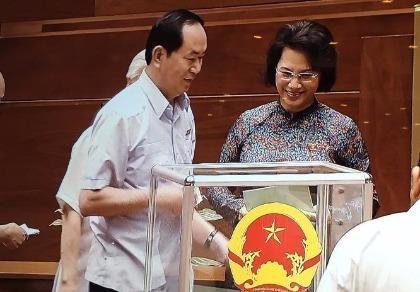 Quốc hội thông qua danh sách bầu cử 18 nhân sự khóa XIV