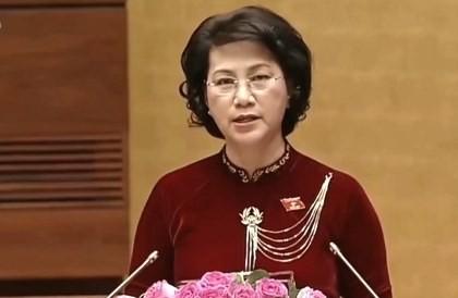 Phát biểu của Tân Chủ tịch Quốc hội trong lễ nhậm chức