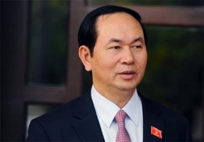 Quốc hội giới thiệu ông Trần Đại Quang làm Chủ tịch nước
