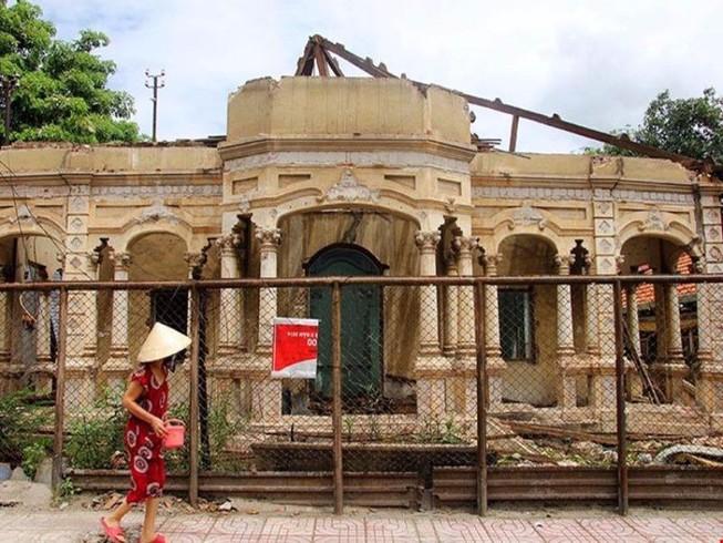 Nhanh chóng phân loại biệt thự cũ để cấp phép xây dựng