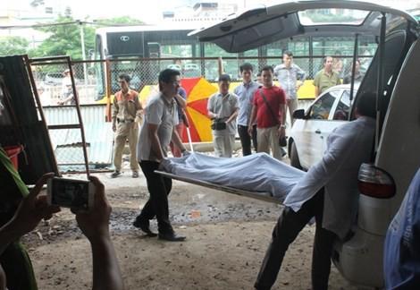 Một người chết, tạm dừng thi công dự án nút giao thông Cầu Giấy