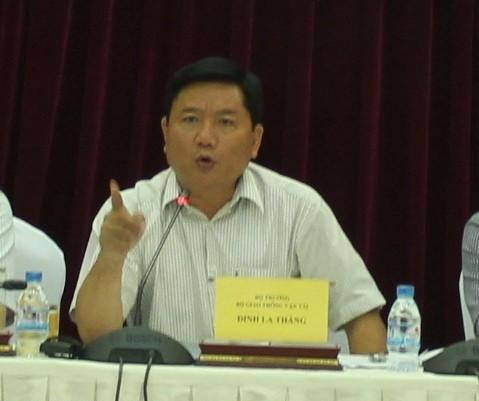Bộ trưởng Thăng: 'Băn khoăn là để còn tiêu cực chứ sao nữa'