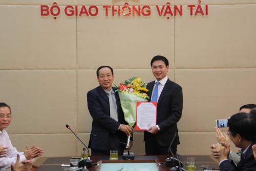 Thư ký ông Đinh La Thăng làm phó tổng cục trưởng Tổng cục Đường bộ