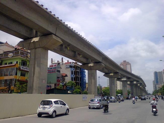 Yêu cầu chế tài đơn vị thi công chậm tuyến Cát Linh - Hà Đông