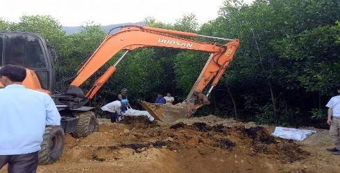 Đường đi của 145,4 tấn chất thải nguy hại Formosa