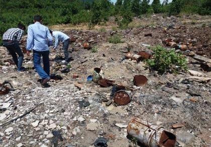 Phát hiện thêm 5 điểm với hàng tấn rác thải từ Formosa