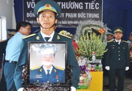 Đề nghị công nhận liệt sĩ cho Thiếu úy Phạm Đức Trung