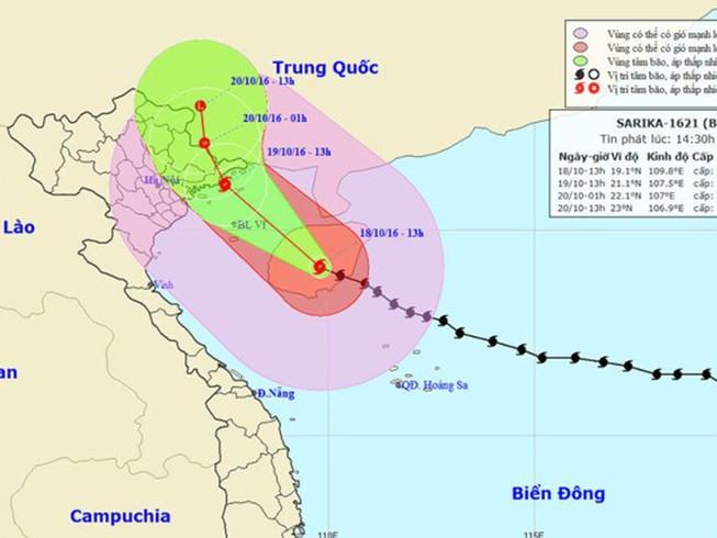 Chuẩn bị sơ tán người dân, nếu bão số 7 đổ bộ
