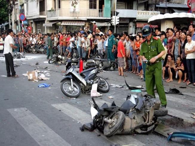 Ngày mùng 4 Tết, có 23 người chết vì tai nạn giao thông