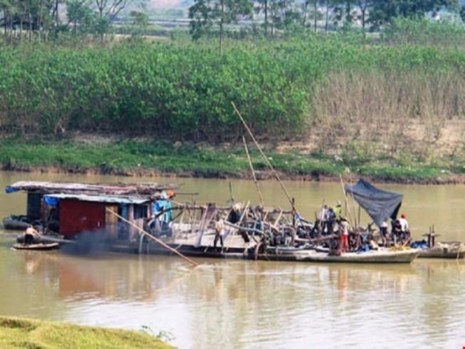 Chấm dứt dự án nạo vét sông Cầu ở Bắc Ninh