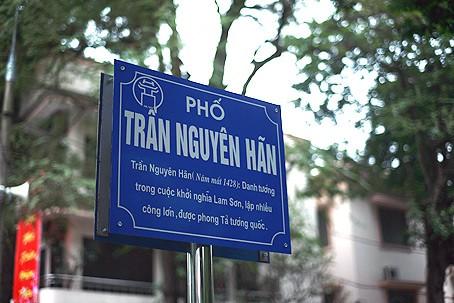 Khó đặt tên phố vì tên danh nhân nổi tiếng cạn dần