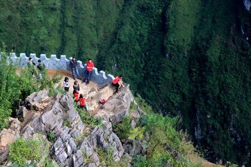 Hoa tam giác mạch miên man hút khách ở Hà Giang