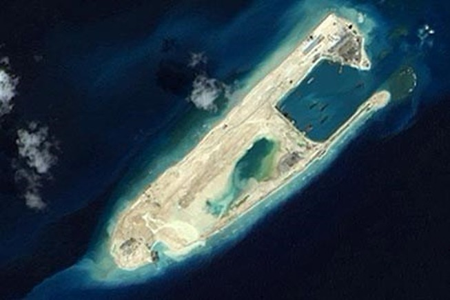 Trao công hàm phản đối Trung Quốc bay thử nghiệm ở Trường Sa