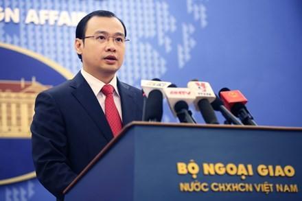 Phản đối Đài Loan đưa phóng viên ra đảo Ba Bình, xâm phạm chủ quyền Việt Nam